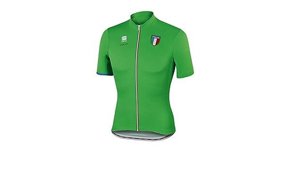 55ae61c0b Amazon.com   Sportful Men s Italia CL Short Sleeve Cycling Jersey -  A1101620   Sports   Outdoors