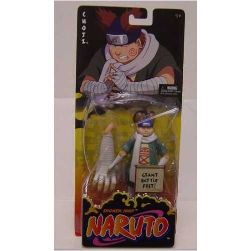Naruto Mattel Basic Action Figure Choji by Mattel