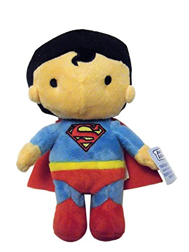 Justice League Superman Clark Kent 7 Plush Character Stuffed Soft Boys Collectible by Designware