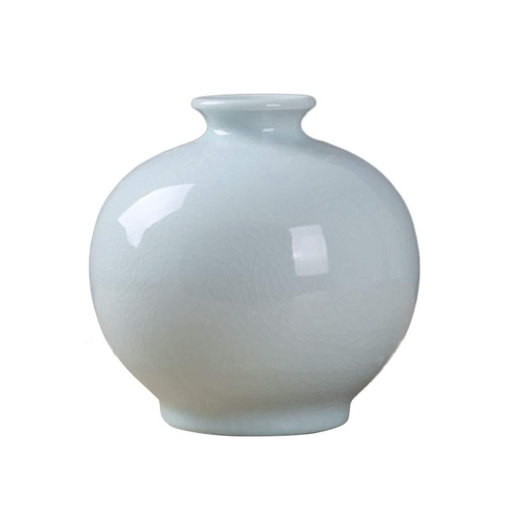 単色花瓶、ホテルの寝室クリエイティブリビングルームテレビキャビネット花瓶背景ベッドサイドテーブルワインラックセラミックス装飾花瓶20 * 21センチ (サイズ さいず : 20*21CM) B07QNPLMYM  20*21CM