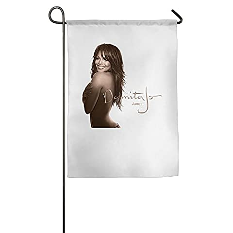 Janet Jackson Garden Sports Flag World Personalized Flags (Janet Jackson 12)