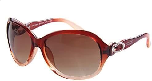SojoS Fashion Designer Inspired Transparent Oversized Square Women Sunglasses SJ2732