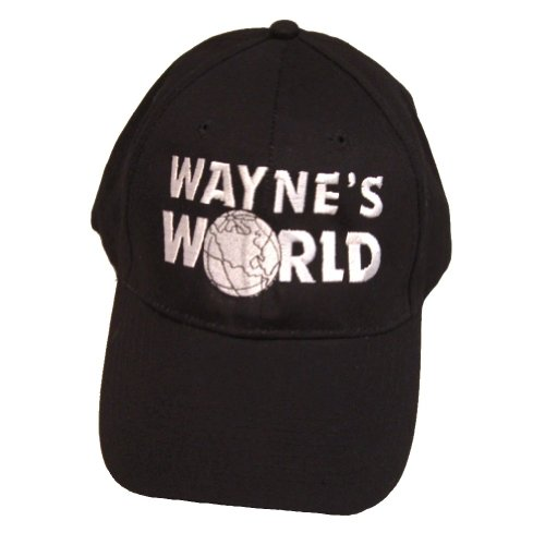Mike Myers Costumes (Wayne's World Hat Wayne Campbell Baseball Cap Costume Movie Mike Myers 2 SNL)