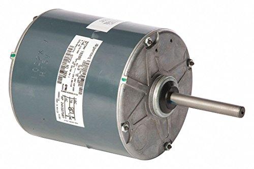 GENTEQ Permanent Split Capacitor Condenser Fan Motor, 2/5 HP, 1001-1100 RPM Range 380-415/460V, CCWLE ()