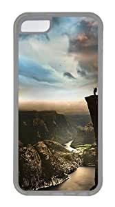 MMZ DIY PHONE CASEipod touch 5 Cases & Covers -Edge Of The World Norway Custom PC Case Cover For ipod touch 5 - Tranparent