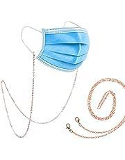 Face Mask Chain,Sunglasses Chain/Mask Chain Holder/Eyeglasses Strap/Mask Lanyard Cord for Women