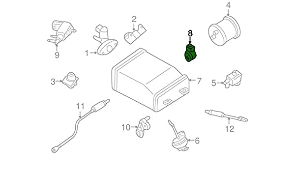 Nissan 22060 8j000 Genuine Knock Sensor Automotive