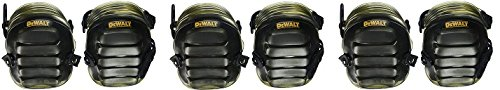 DEWALT DG5217 All-Terrain Kneepads with Layered Gel Padding with Full Size, All Terrain Cap (3-(Pack))