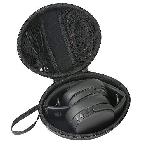 co2crea Hard Travel Case for Skullcandy Crusher S6CRW-K591 Bluetooth Wireless Over-Ear Headphone Microphone ()