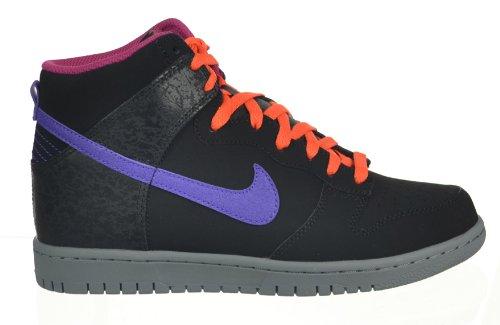 Nike Dunk High Men's Shoes Black/Purple/Grey Black/Purple/Grey 317982-053-13