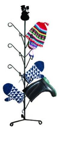 39 Inch Snowman Mitten or Boot Dryer Holds 8 Pair (Iron Dryer Mitten Wrought)