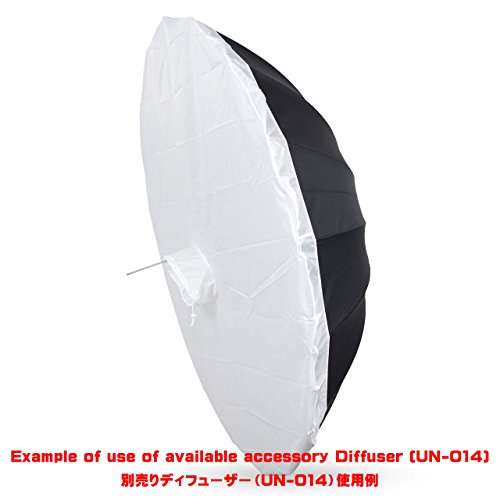 UNPLUGGED STUDIO 70inch White Umbrella (16 Fiberglass Ribs) by UNPLUGGED STUDIO (Image #7)