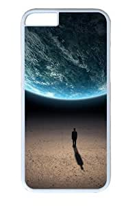 Alone in the universe Polycarbonate Hard For SamSung Galaxy S6 Phone Case Cover White