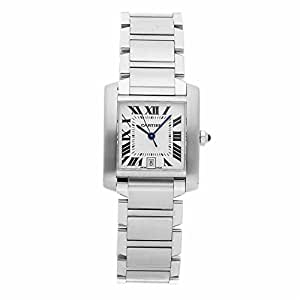 Cartier Tank Francaise Quartz Female Watch W51022Q3 (Certified Pre-Owned)