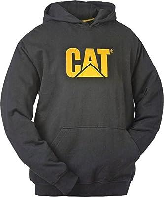 Caterpillar CAT Sudadera con capucha W10646-016-L negro Negro ...