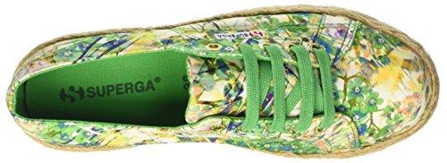 Collo Superga fabricfanplropew Green A Sneaker Basso Spring Donna 2790 FPqZS
