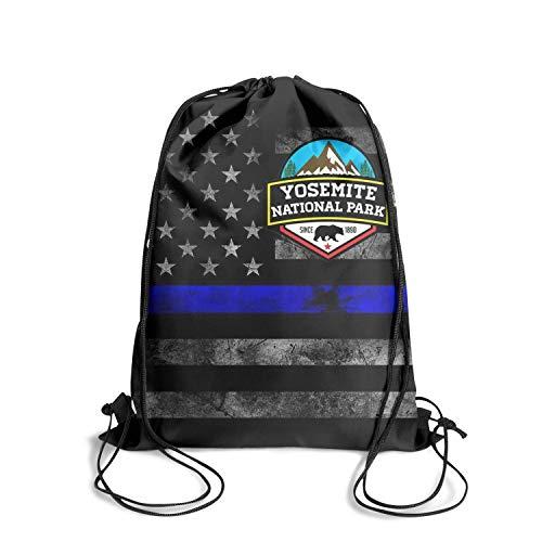 Yosemite National Park Unisex Drawstring Shoulders Awesome Waterproof Travel Sports Sports Backpack