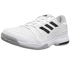 Amazon.com | adidas Mens Barricade Court Tennis Shoes ...