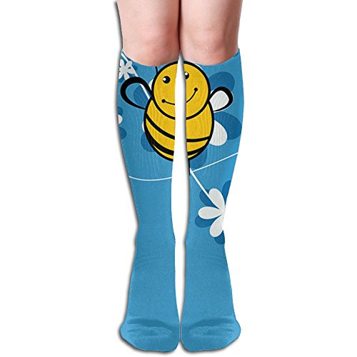 Long Stocking Cute Bee Women's Over Knee Thigh