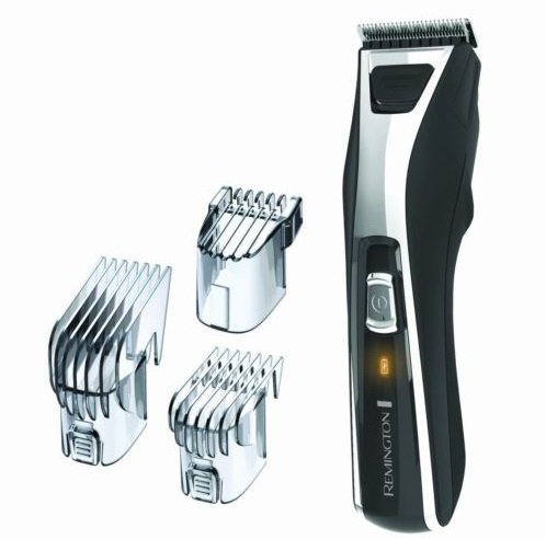 Remington HC5550 Precision Power Haircut Beard Mustache Trimmer Corded/Cordless (Oyster Costume)