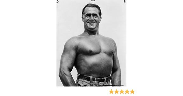 Vintage 8x10 Photograph 1938 photo Charles Atlas shirtless // World Telegram photo Ready to Frame