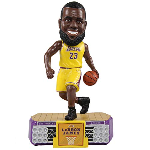 FOCO Lebron James LA Lakers Stadium Lights Bobble Head (Bobble James Head)