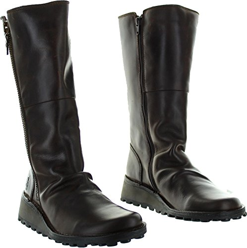 London Mid Migo Boots Women's Leather Fly Calf d1wAI1