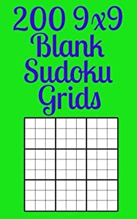 blank sudoku 500 blank 9x9 grids amazon co uk r j clarke