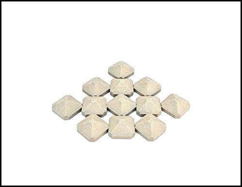 Eagles Ceramic - Twin Eagles Delta Heat Gas Grill Factory 12 Ceramic Briquettes Kit S13129-12