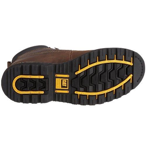 Uomo Dark Brown Stivali Marrone Caterpillar Holton Ep4Hqv6