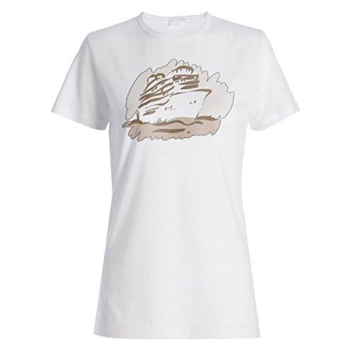 Neue Sommer Ursprüngliche Hand Gezeichnet Damen T-shirt i299f