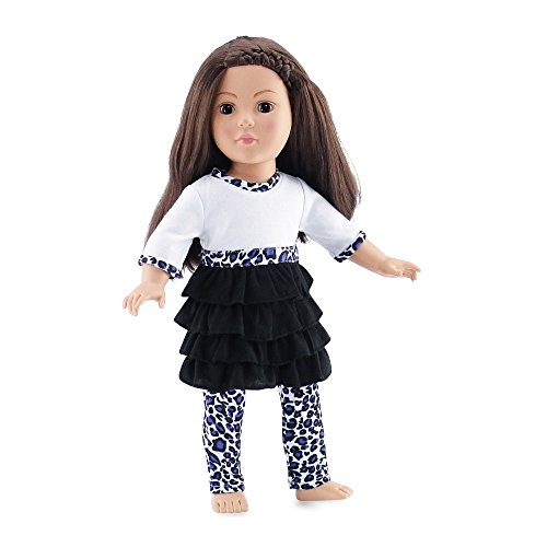 Doll Clothes Matching Leggings American product image