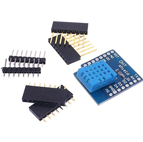Price comparison product image KINWAT DHT Shield for WeMos D1 mini DHT11 Single-bus digital temperature and humidity sensor module sensor