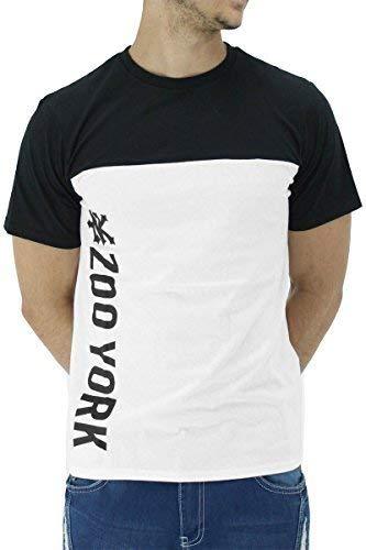 Zoo York Hombre Verano Algodón Estampado Gráfico Largo Camisetas: Amazon.es: Ropa y accesorios