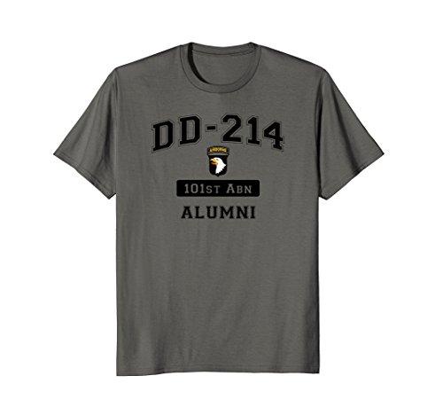 DD-214 101st AIRBORNE Division Alumni - Military Airborne 101st T-shirt