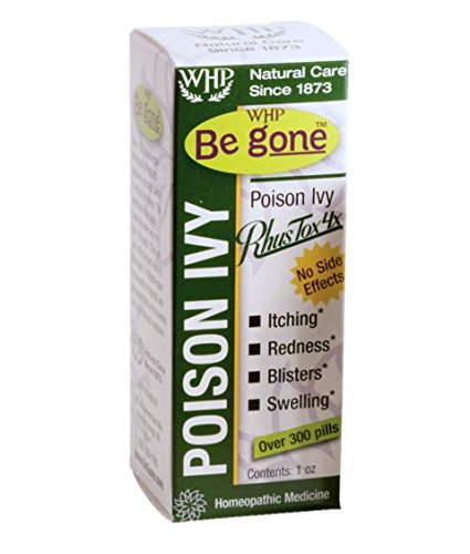 WHP Be Gone Poison Ivy, 300 Pills (Pack of 2) (Rhus Toxicodendron Poison Ivy)