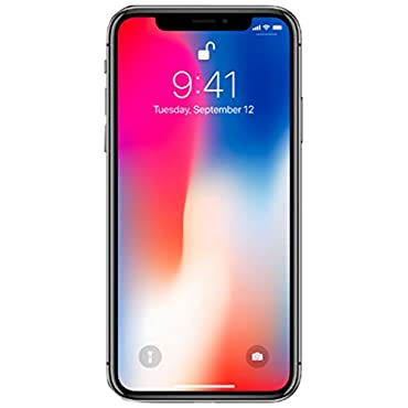Apple iPhone X 64GB GSM Unlocked Phone, Space Gray
