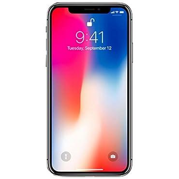 Apple iPhone X 64GB GSM Unlocked Phone, Space Gray