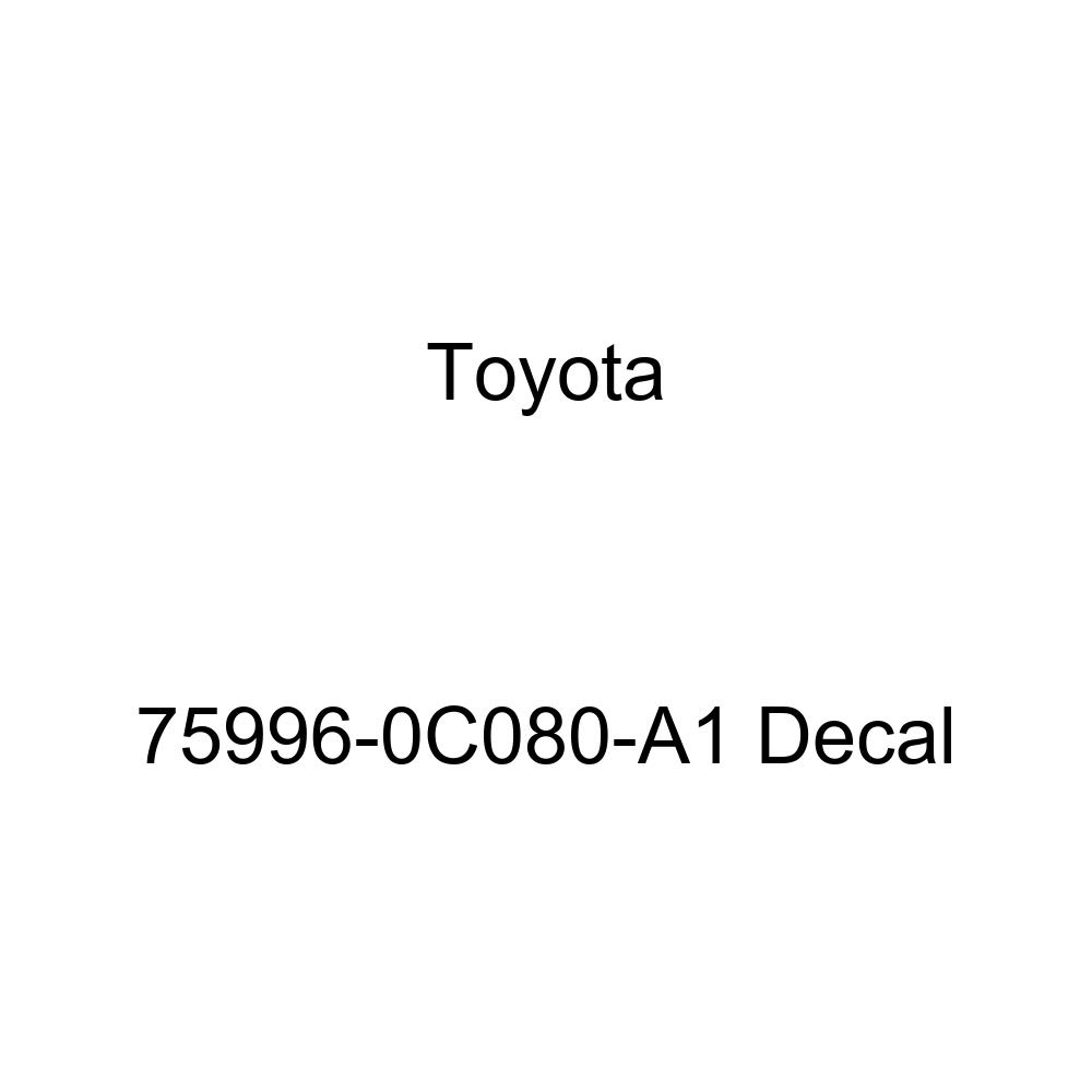 Toyota 75996-0C080-A1 Decal
