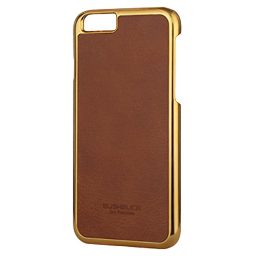 BUSHBUCK IP6PBEBN Baronage Classical Edition Leder Schutzhülle für Apple iPhone 6 Plus/6S Plus