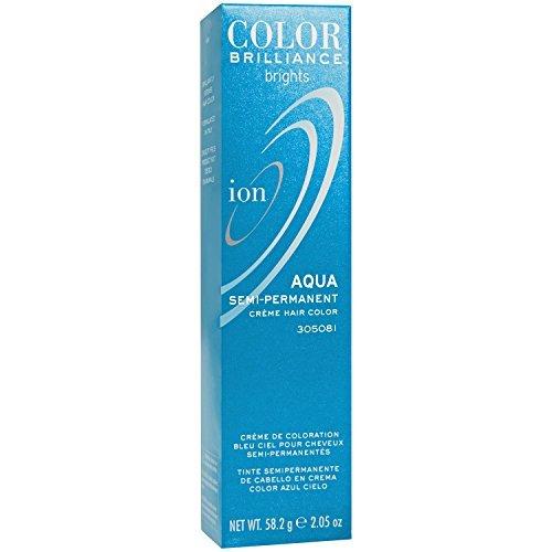 Aqua Semi Permanent Hair Color by Ion