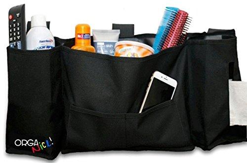 OrgaNICE! Bedside Storage Organizer Bag- Hanging Caddy- Matt