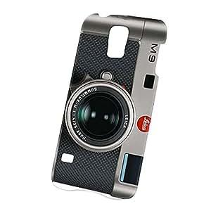 Case Fun Samsung Galaxy S5 (i9600) Case - Ultra Slim Version - Full Wrap Edge to Edge Print - M9 Black Camera