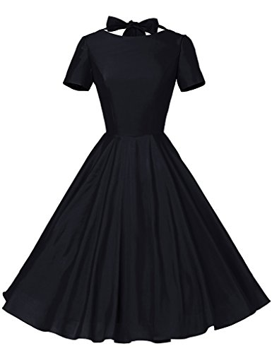 Sailor Dresses, Nautical Theme Dress, WW2 Dresses GownTown Womens 1950s Vintage Retro Party Swing Dress Rockabillty Stretchy Dress $32.99 AT vintagedancer.com