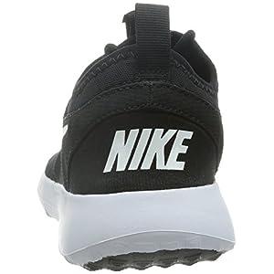 NIKE Women's Juvenate Sneaker, Black/White, 7.5 B US