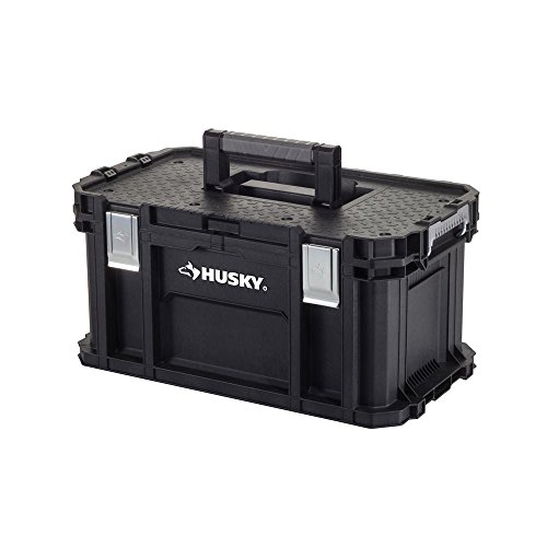 Husky 21 in.Great Design Portable Storage Connect Organizer Tool Box by Husky
