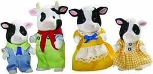 Sylvanian Families - Familia de vacas (4 figuritas)