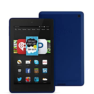 """Fire HD 6, 6"""" HD Display, Wi-Fi, 16 GB - Includes Special Offers, Cobalt"""