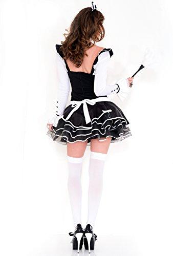 Frauen Recht Kostüm Proper Maid Französisch ffwrxg6OqW