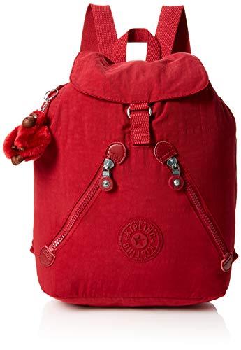 Mujer Mochilas Fundamental Rojo C Red Kipling radiant w5Exf4xU